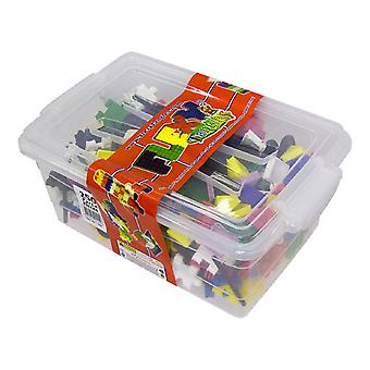 Matrax Flexy Creative Blocks, 250 Pieces, In Plastic Box, Educational, For Children Ages 3 and Up