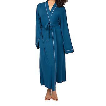 Cyberjammies Maria 4901 Naisten sininen sininen modaalinen aamutakki
