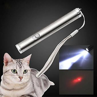 Laser Tease Cat Rods LED Light Laser Funny Interactive Cat Pen Toys