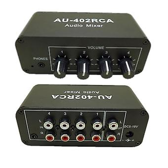 12v Stereo Audio Sekajakelijan signaalinvalitsin, äänenvoimakkuuden säätimet