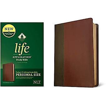 NLT Life Application Study Bible, Third Edition, Brown