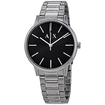 Armani Exchange Cayde Black Dial Men's Watch AX2700