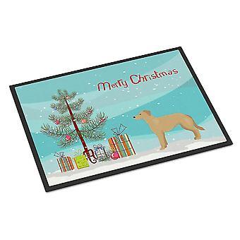 Door mats german sheprador #1 christmas tree indoor or outdoor mat 24x36