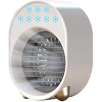 Draagbare luchtkoeler mini usb ventilator airconditioner luchtbevochtiger voor thuis kantoor kamer desktop luchtkoeling