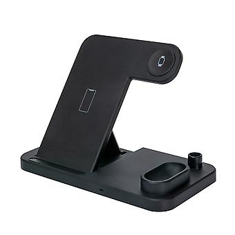 15w Fast Charging 4-in-1 Wireless Charger Suitable For Apple 12 Wireless Charger Desktop Folding Wireless Charger