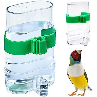 2pcs Bird Feeder, Automatic Bird Waterer Feeders, Birds Plastic Portable Automatic Water Dispenser For Parrot Small Animal Feeding Use