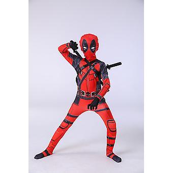 Costume d'enfant Halloween Costume Cosplay (deadpool Double Swords)
