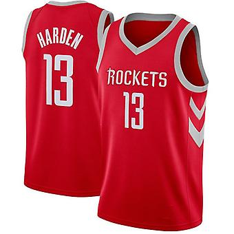 Men's Basketball Jersey #13 Harden Houston Rockets Basketball Jerseys Name And Number Player Sports T-shirt Size S-xxl