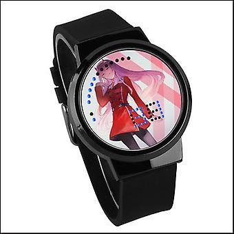 Waterproof Luminous Led Digital Touch Watch - Darling In The Franxx