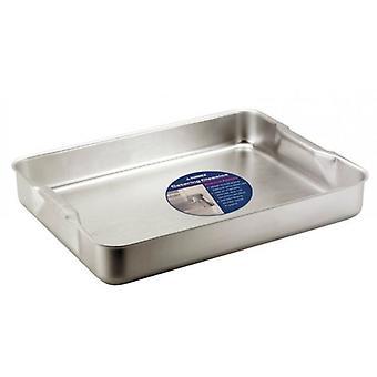 6.1 Litre Baking Roasting Dish Tray Aluminium Bakeware with Handles