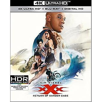 XXX: Tilbagelevering af Xander Cage [Blu-ray] USA import
