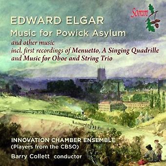 Elgar / Innovation Chamber Ensemble / Collett - Music for Powick Asylum [CD] USA import