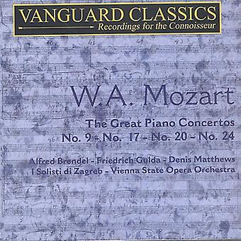 W.a. Mozart - W.a. Mozart: The Great Piano Concertos [CD] USA import