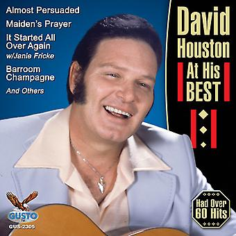 David Houston - At His Best [CD] USA import