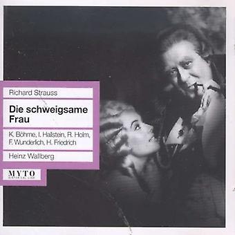 Strauss / Bohme / Horakova - Die Schweigsame Frau [CD] USA import