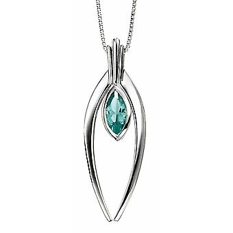 925 Silver Pearl Pendant Necklace