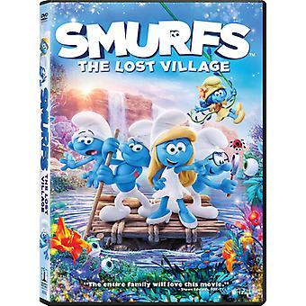 Smurffit: Lost Village [DVD] USA tuonti