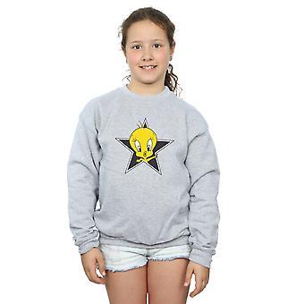 Filles de Looney Tunes Tweety Pie Star Sweatshirt