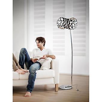 Schuller Narisa Floor Lamp,5L,Chrome