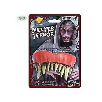 Halloween en horror realistische monster tanden voor halloween