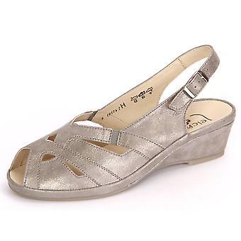 Semler Lissy Panna Metall Velour L2582031028 universal summer women shoes