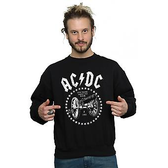 AC/DC Men's We Salute You Cannon Sweatshirt
