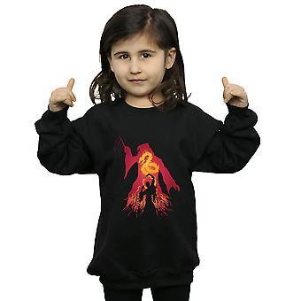 Harry Potter Girls Dumbledore Silhouette Sweatshirt