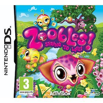 Zoobles (Nintendo DS)-nytt