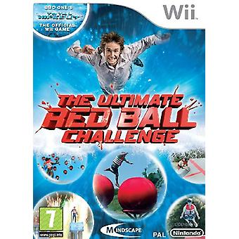 The Ultimate Red Ball Challenge - BBCs Total Wipeout (Wii) - New