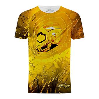 Ant-Man And The Wasp Mens Wasp Head Graphic T-Shirt