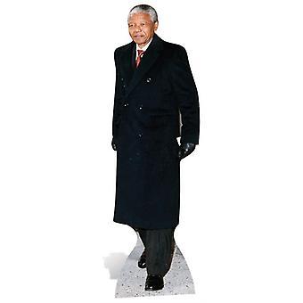 Nelson Mandela Life-sized pahvi automaattikatkaisin
