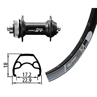 Bike osat 26 pyörän Rodi M 460 levyn + Deore XT Centerlock (QR)