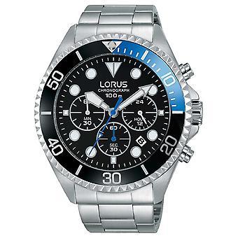 Lorus Mens Sport Chronograph Stainless Steel Bracelet RT315GX9 Watch