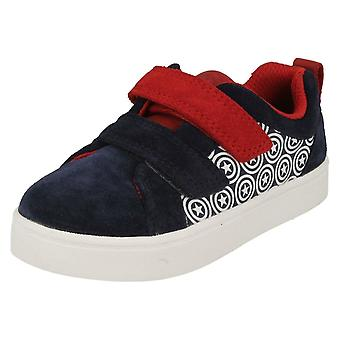 Garçons Clarks Casual chaussures ville héros Lo
