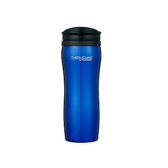 Thermos 400mL S/Steel Outer (Plastic Inner Travel Tumbler)