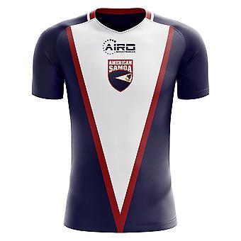 2020-2021 ساموا الأمريكية مفهوم الوطن لكرة القدم قميص