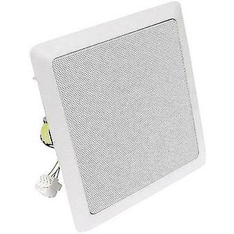 Visaton DL 18/2 SQ PA Einbaulautsprecher 60 W 100 V Weiß 1 Stk.