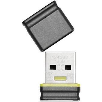 Platinum Mini USB stick 16 GB Black, Blue 177536 USB 2.0