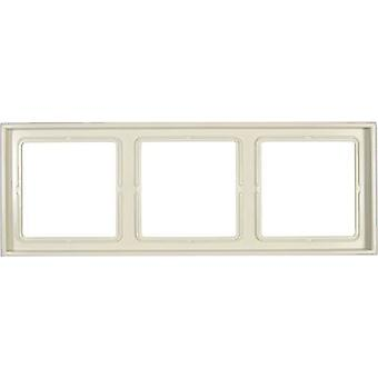 Jung 3x Frame LS 990 Cream-white LS983W
