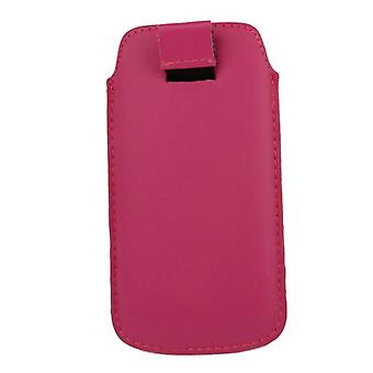 Bolso de la caja móvil deslizante cubierta de color rosa
