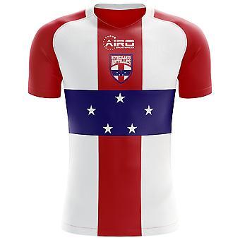 2020-2021 هولندا جزر الأنتيل الهولندية مفهوم المنزل لكرة القدم قميص - أطفال