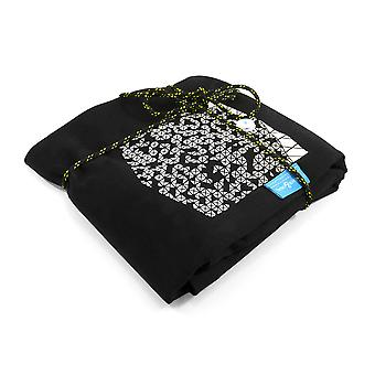 Anchor & Crew Noir Black Digit Print Organic Cotton T-shirt (mens)