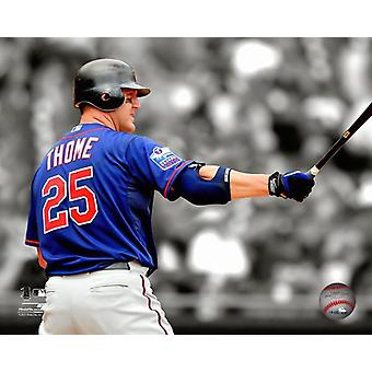 Jim Thome 2010 Spotlight Action Photo Print