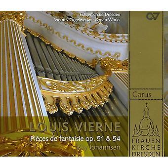 Louis Vierne - Louis Verne: Pi Ces De Fantasie, Op. 51 & 54 [SACD] USA import