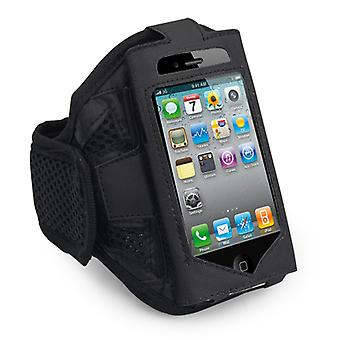 DIGIFLEX iPhone 4 Armband Gym kjører og sport armen bandet for iPhone iPod 4 4S 3GS 3G iPod Touch svart