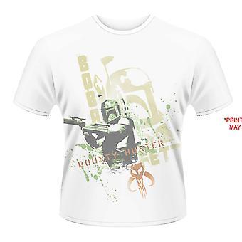 Star Wars- Boba Fett Stencil (Dye Sub) T-Shirt