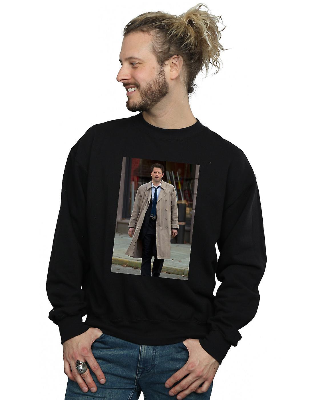 Supernatural Men's Castiel Photograph Sweatshirt