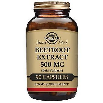 Solgar Beetroot Extract 500 mg 90 vegetable capsules (Herbalist's , Natural extracts)