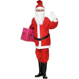 Santa Boy Costume, Large Age 9-12