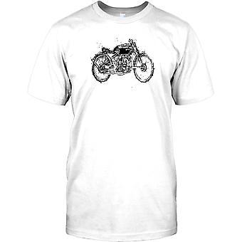Vincent Black Shadow Design - klassisk brittisk cykel barn T Shirt